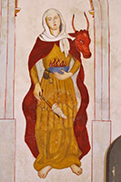 45 Bride Mural Glastonbury Abbey